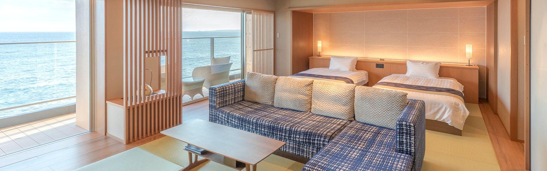 記念日におすすめのホテル・海一望絶景の宿 いなとり荘の写真2