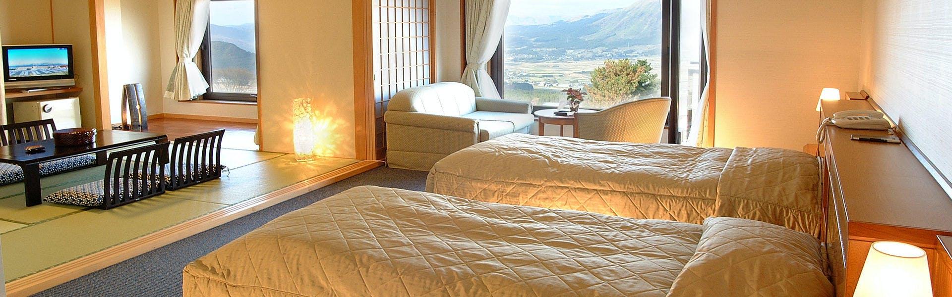 記念日におすすめのホテル・【ホテルグリーンピア南阿蘇】の写真3
