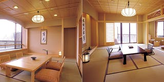 特別階「野の花亭」河口湖側純和室(一例)