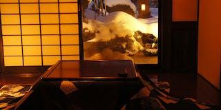 【露天風呂+檜内湯付】和室+炬燵の間 客室一例