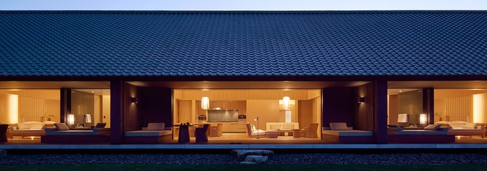 アマネム 日本旅館に息づく伝統をとりいれたリゾート
