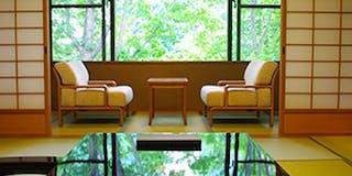 離れの檜内風呂付特別客室(122平米)