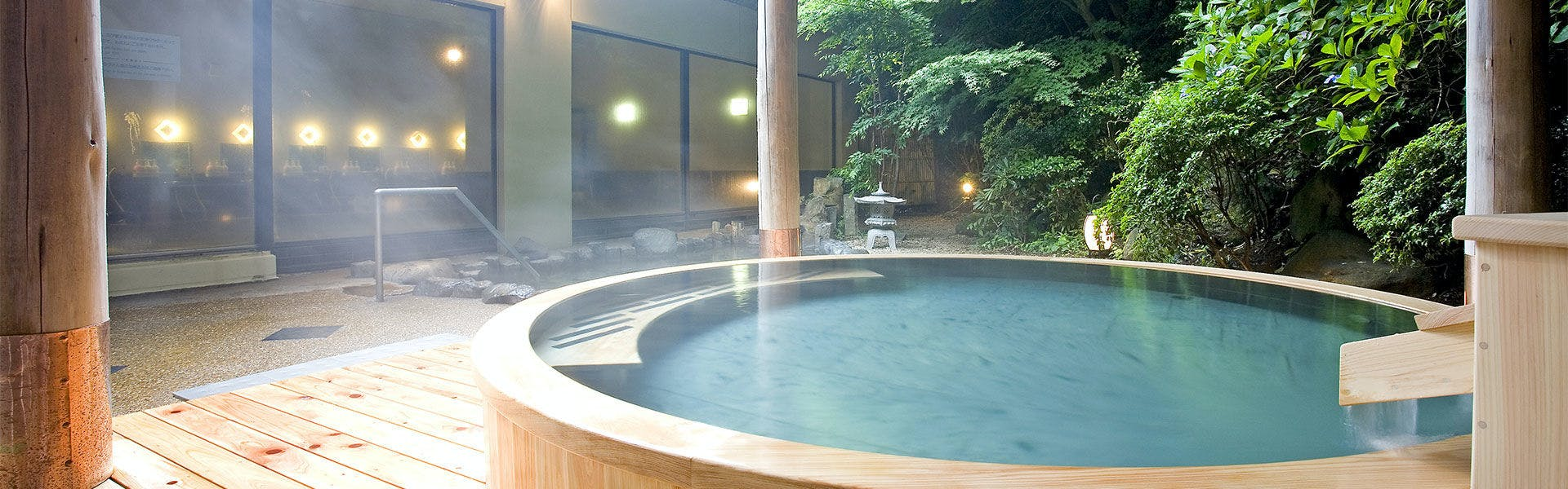 檜風呂露天