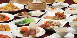 中国レストラン「香満楼」 お食事一例