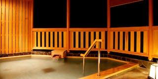 岩風呂 「岩鏡」(露天風呂)