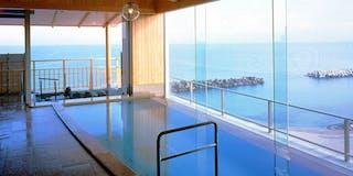 「海の湯」大浴場(大山)