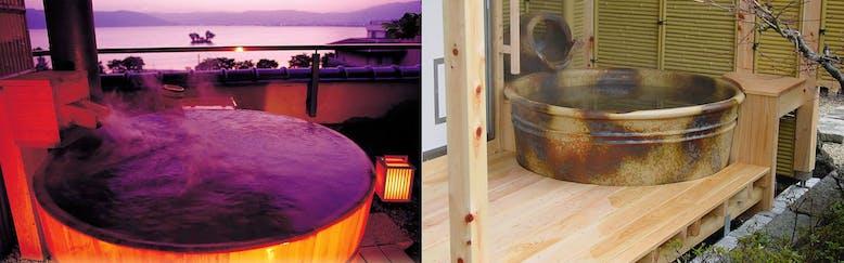 信州・上諏訪温泉 琥珀色の自家源泉を持つ宿「ホテル鷺乃湯」