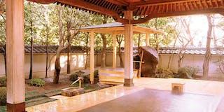 霊泉さぎの湯大露天風呂
