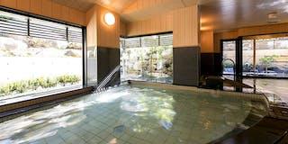 天然温泉 大浴室 月泉