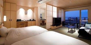 特別フロア「うすい」 5階 展望温泉風呂付客室
