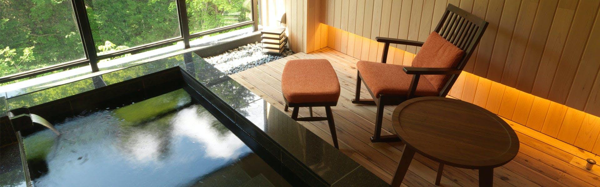 記念日におすすめのホテル・【ニセコ昆布温泉 鶴雅別荘 杢の抄】の写真2