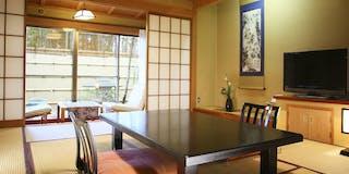 和室10帖+檜の内湯 1階