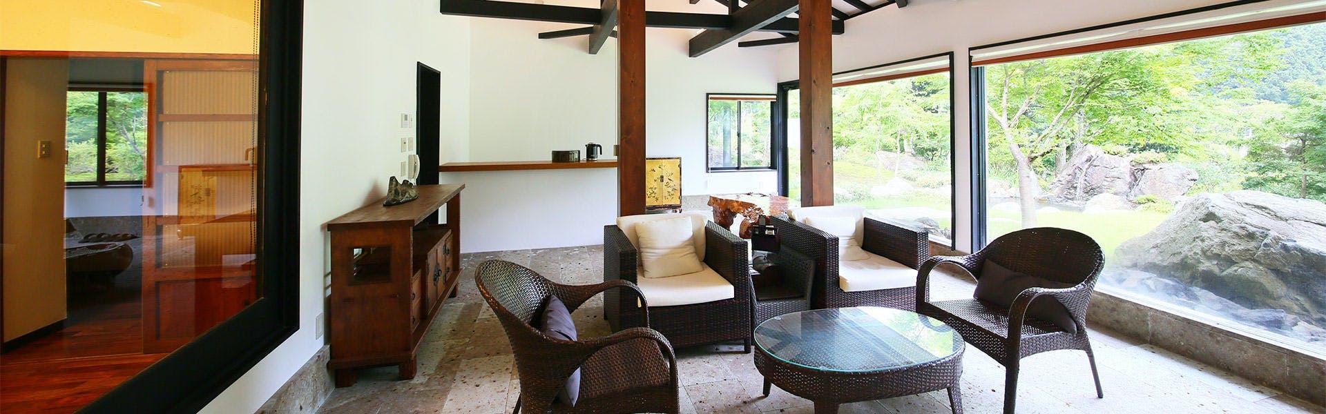 記念日におすすめのホテル・川場温泉 清流の里 錦綉山荘の写真1