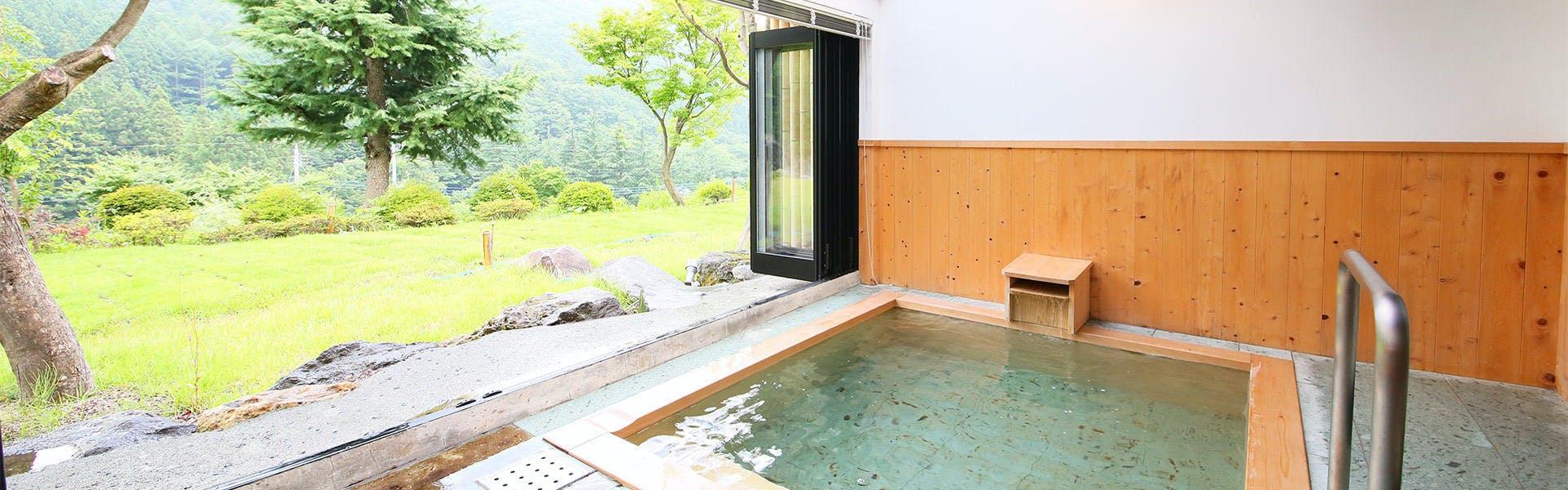 記念日におすすめのホテル・川場温泉 清流の里 錦綉山荘の写真2