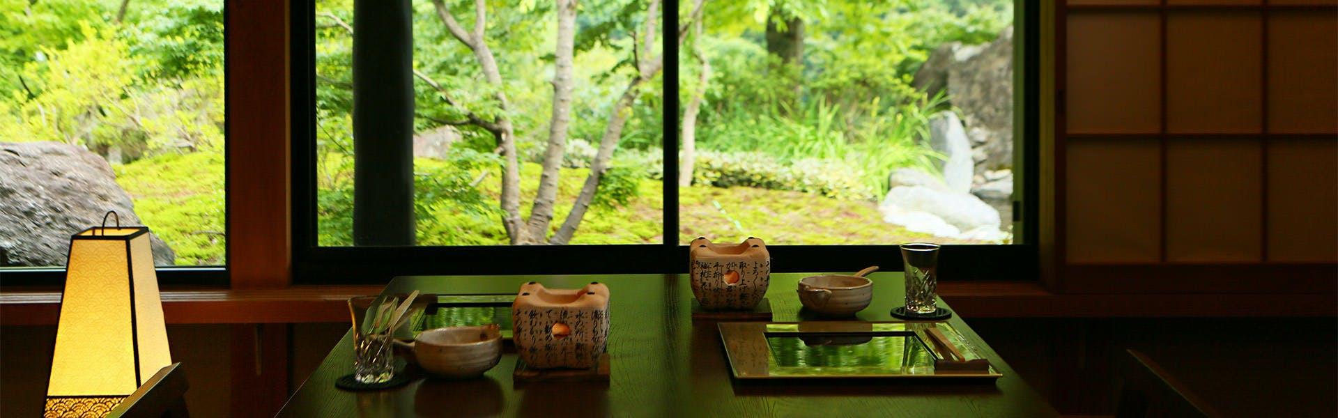 記念日におすすめのホテル・川場温泉 清流の里 錦綉山荘の写真3