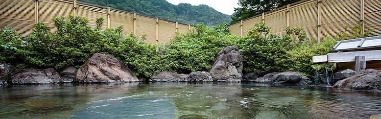 袋田温泉 滝味の宿 豊年万作