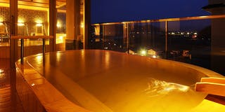 展望檜風呂「熱の湯」