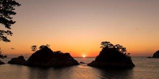 夕方の堂ヶ島