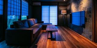 特別室【83平米】 リビング+和洋室+寝室 露天風呂付き