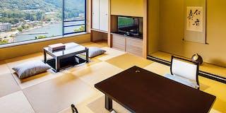 【タイプ1A】芦ノ湖一望の和室