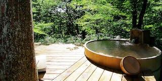林空露天風呂付き離れ