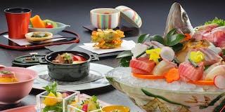 個室食事処・お部屋食の会席コースお料理イメージ