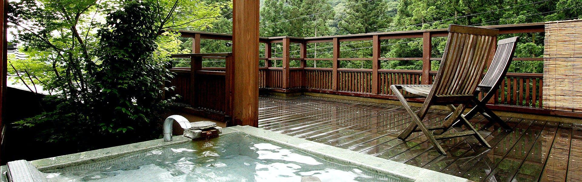 記念日におすすめのホテル・四万温泉 鹿覗キセキノ湯 つるやの写真2