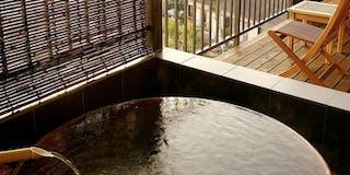 「雲の上」 客室露天風呂