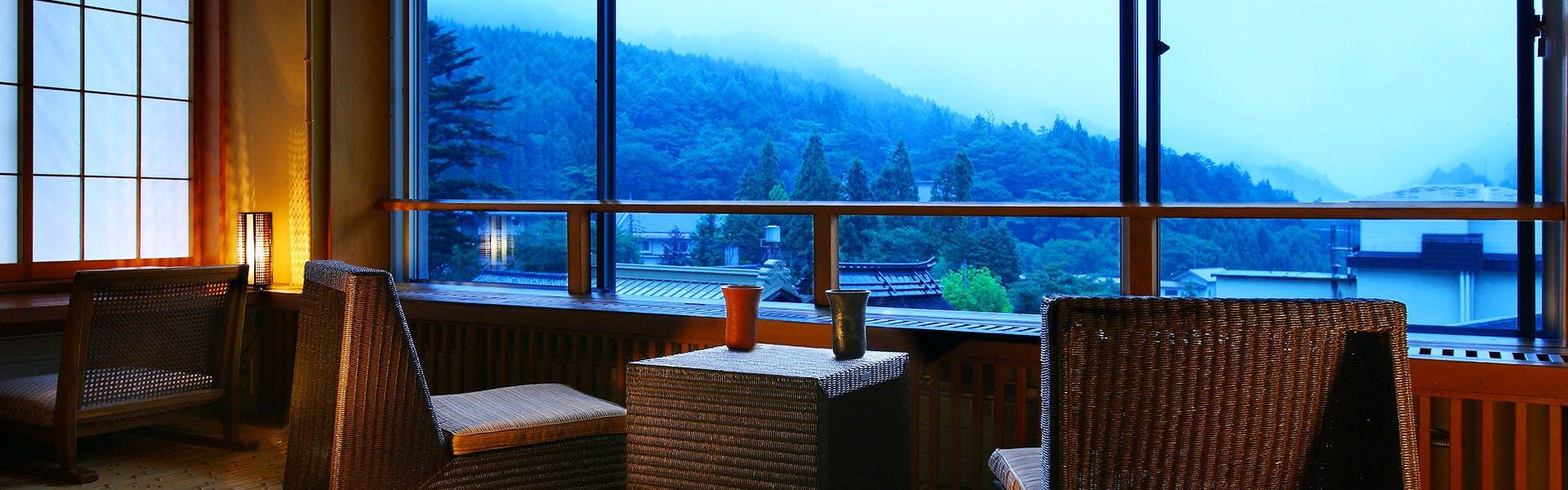 記念日におすすめのホテル・温泉三昧の宿 四万たむらの写真1