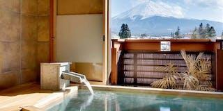 富士山展望貸切風呂(檜)