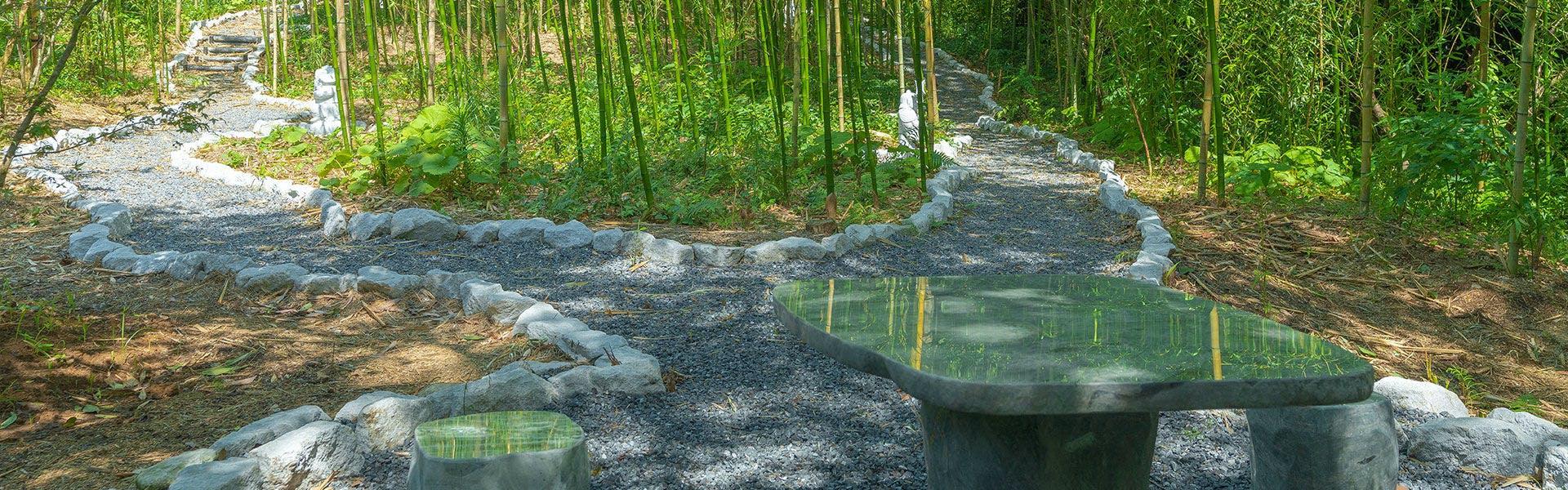 竹林の径と七福神めぐり