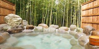 竹林の貸切露天風呂(1組50分無料)