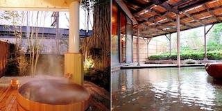 貸切露天家族風呂「二人静」/露天風呂 紫陽花の湯