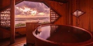 天然温泉一例