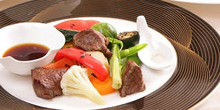 野菜をふんだんに使用したコース(イメージ)