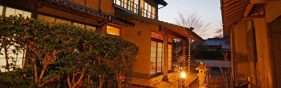 夕食お部屋食の料理宿 和風旅館 津江の庄