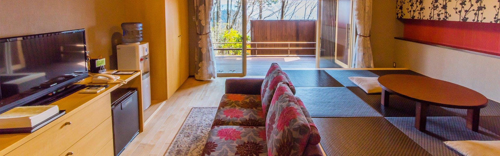 記念日におすすめのホテル・草屋根の宿 龍のひげ/別邸 ゆむたの写真3