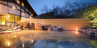 とよさわ乃湯 大露天風呂 | 花巻温泉郷最大級の大露天風呂 男女合わせて五十畳の広さは爽快