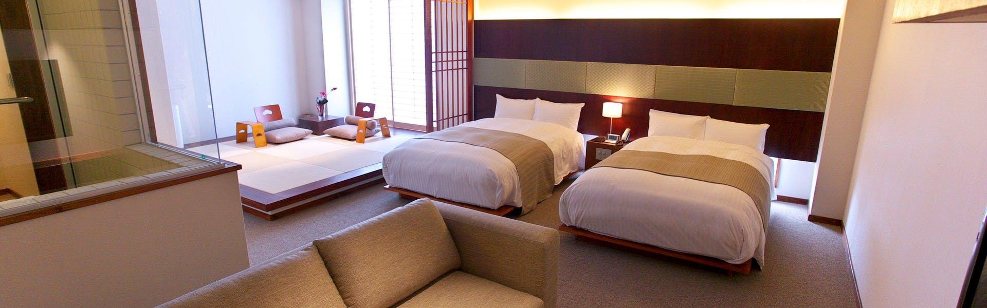 記念日におすすめのホテル・旅亭 松屋本館 Suizenjiの写真2