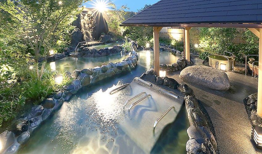 蓮 みなと 温泉