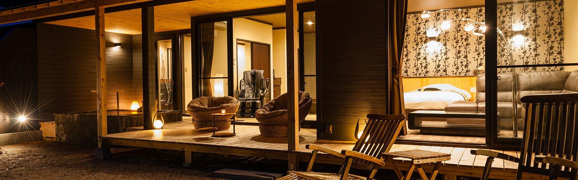 記念日におすすめのホテル・離れの宿 楓音(かのん)の写真2