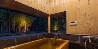 母屋檜風呂