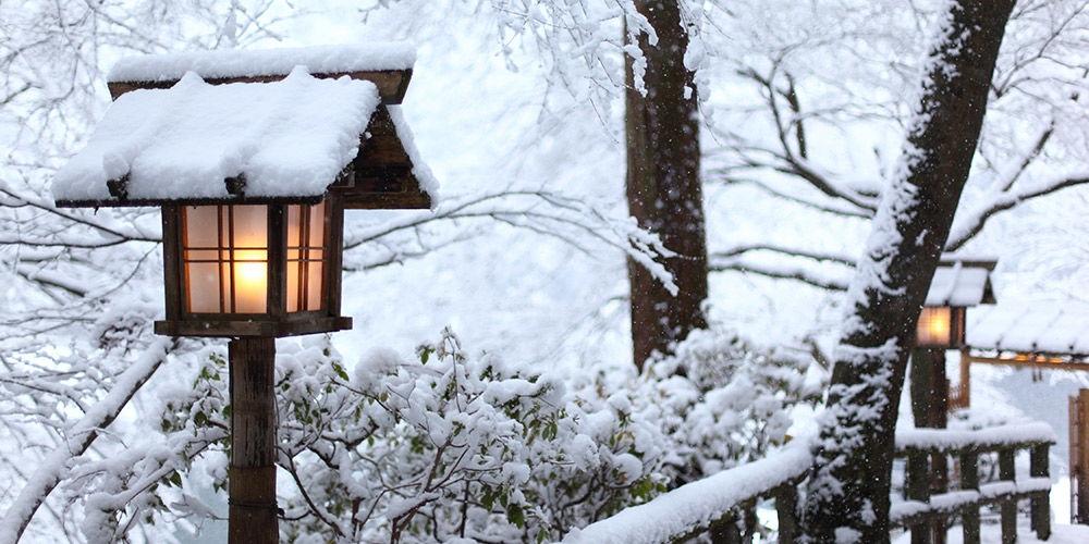 星のや京都 冬