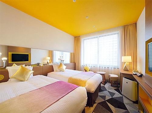 【ポイント最大18倍!】12種類の多彩な部屋から選ぶオフィシャルホテルステイ