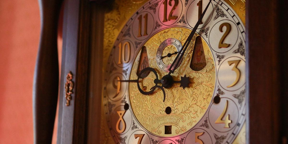 奈良ホテル 平成の大時計