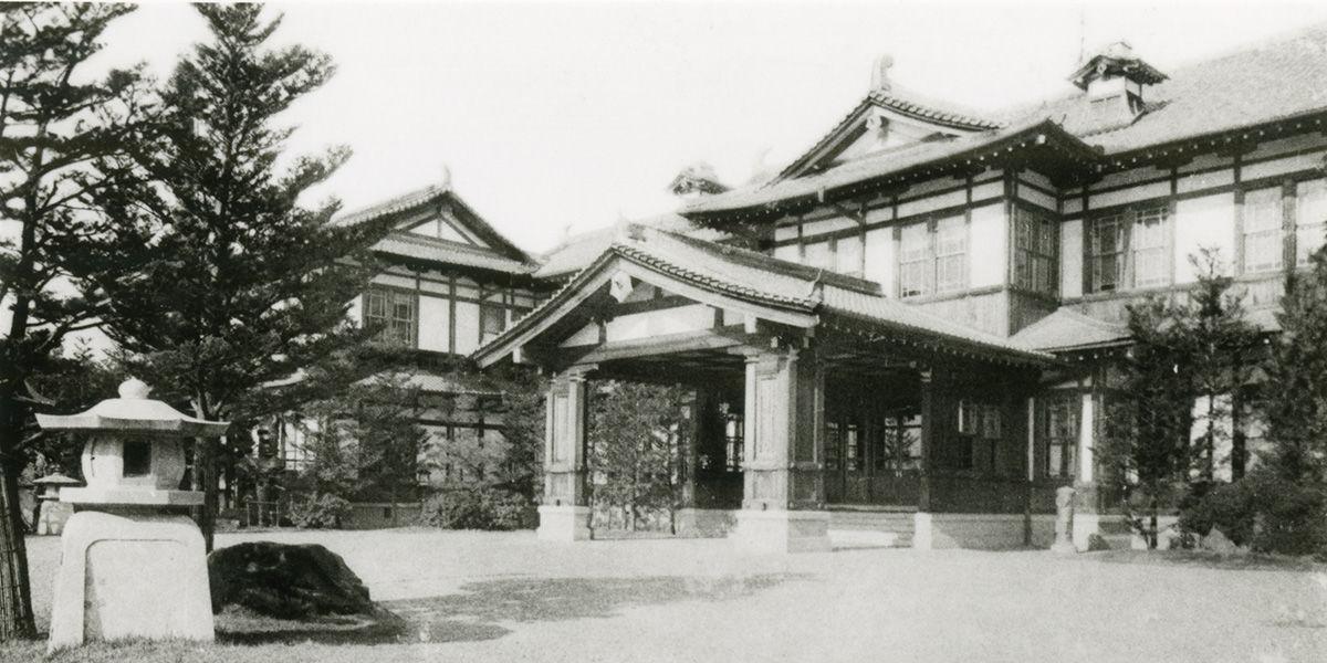 奈良ホテル 創業時写真