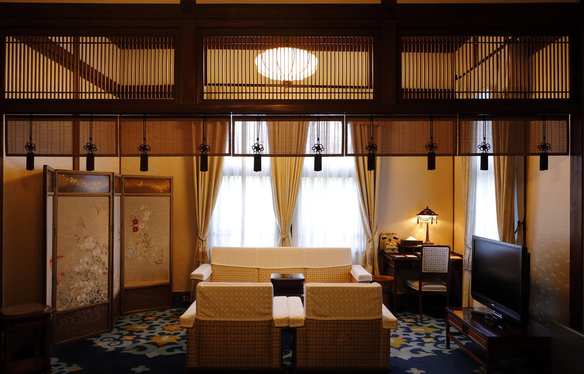 奈良ホテル インペリアルスイート