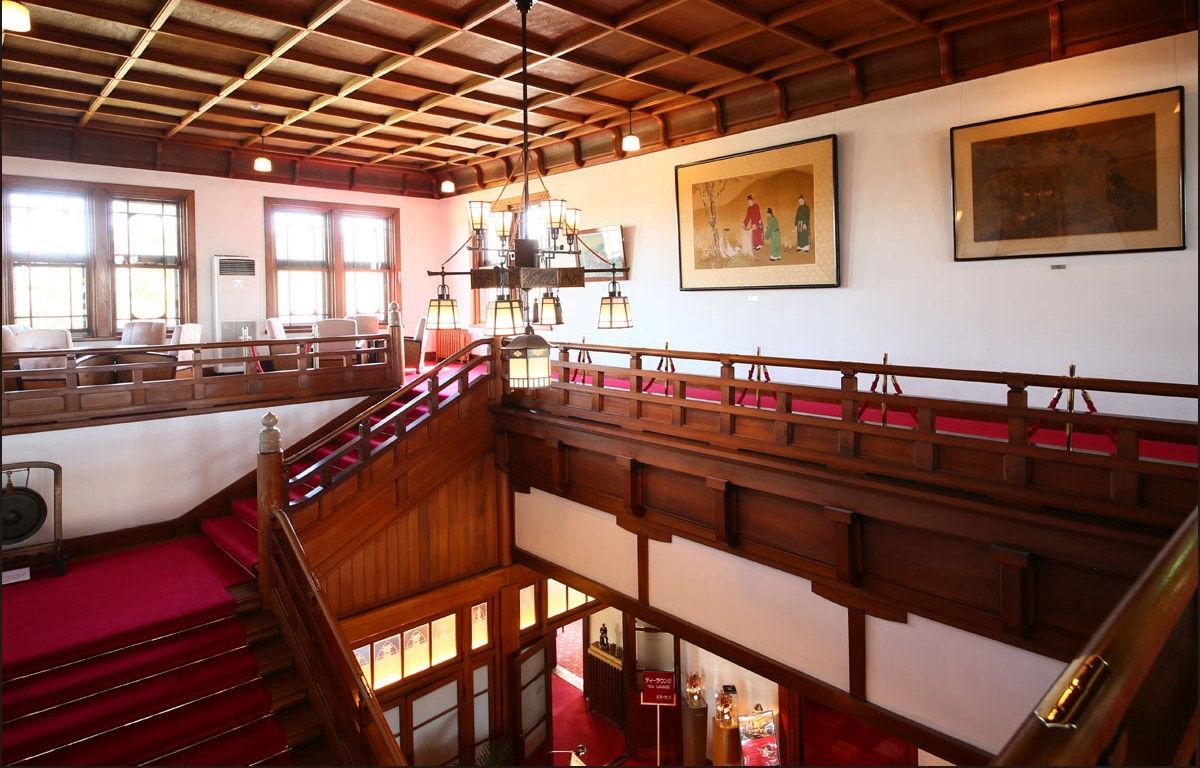 奈良ホテル 2階バルコニー