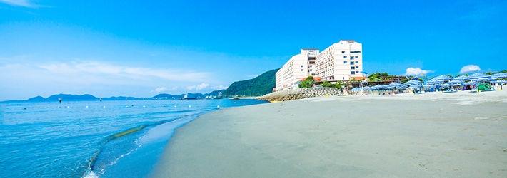 瀬戸内海国立公園内に位置する南欧風リゾートホテル アオアヲ ナルト リゾート(徳島県/鳴門)