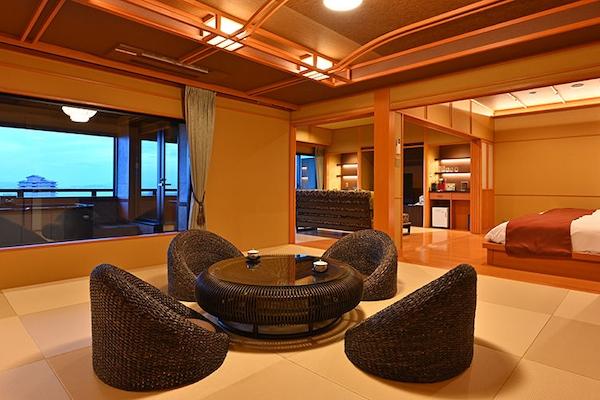 びわ湖花街道 客室一例